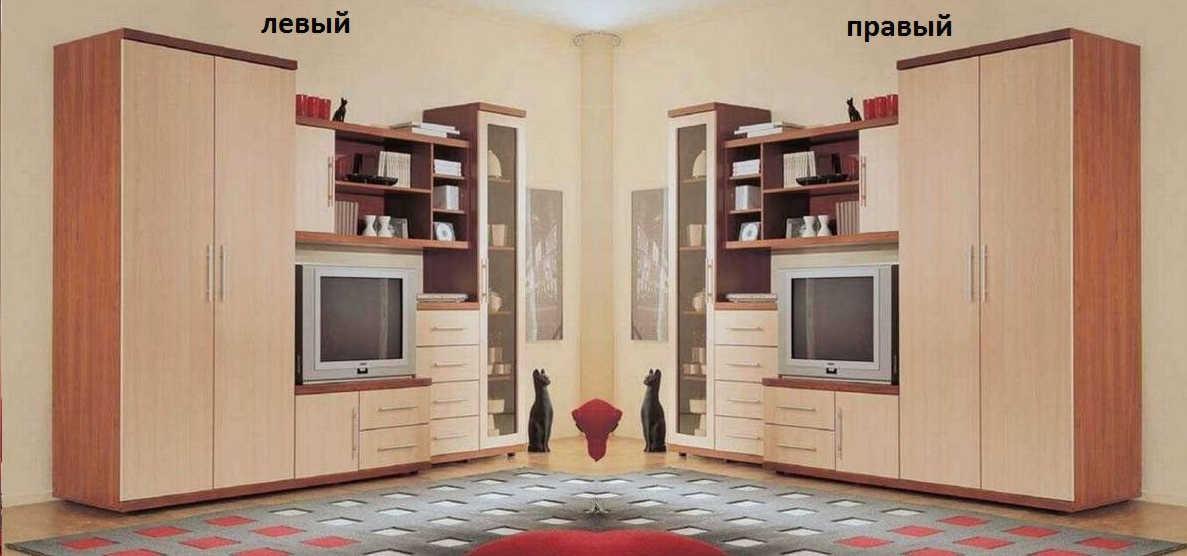 Стенка Артур шкаф слева или справа