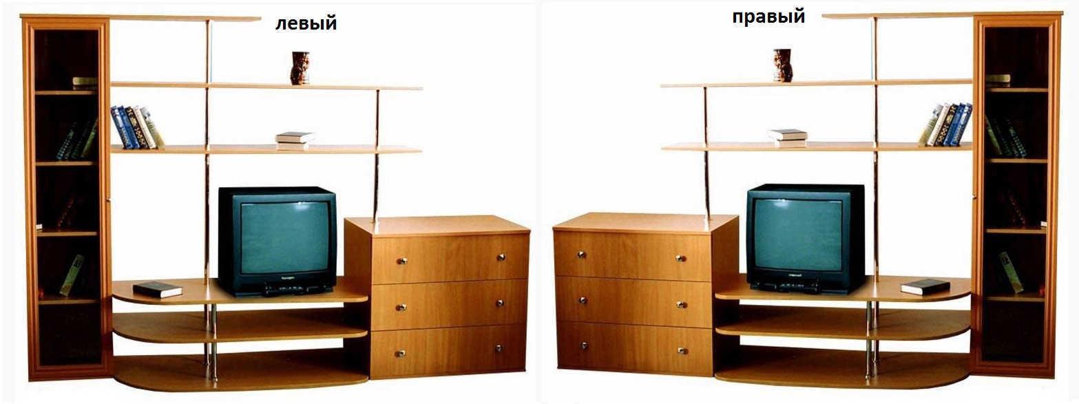 Стенка Ноктюрн №2 пенал слева или справа
