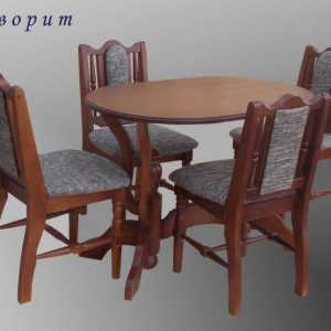 Обеденная группа Фаворит (стол+4 стула)