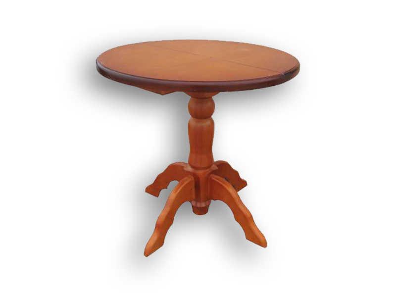 Стол 1 точёная нога Д 80 см.