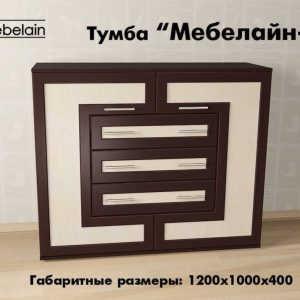 Тумба ТВ Мебелайн-10