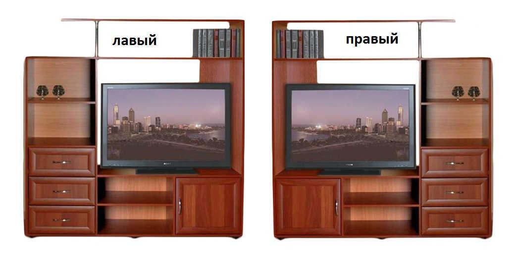 Тумба ТВ-1 пенал слева или справа