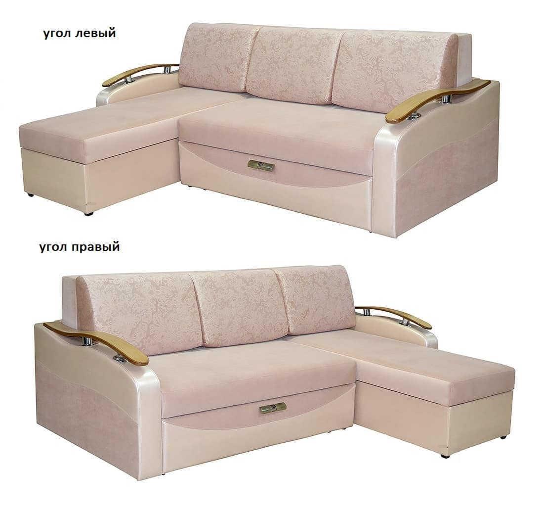 Угловой диван Айвенго левый или правый