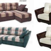 Угловой диван Амстердам с креслом