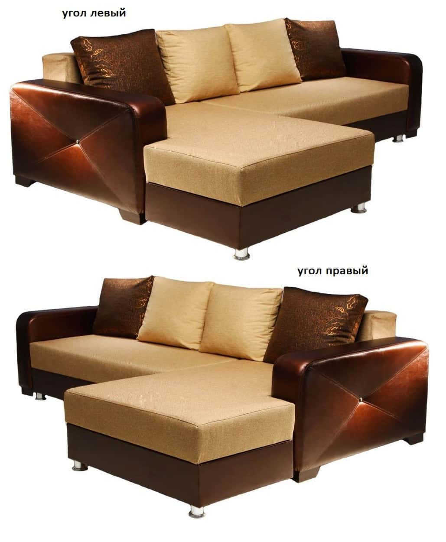 Угловой диван Анкара левый или правый