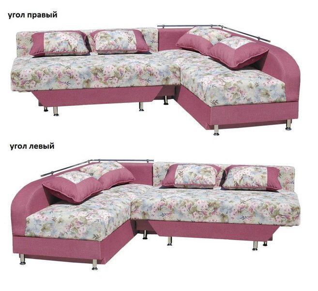 Угловой диван Бали левый или правый