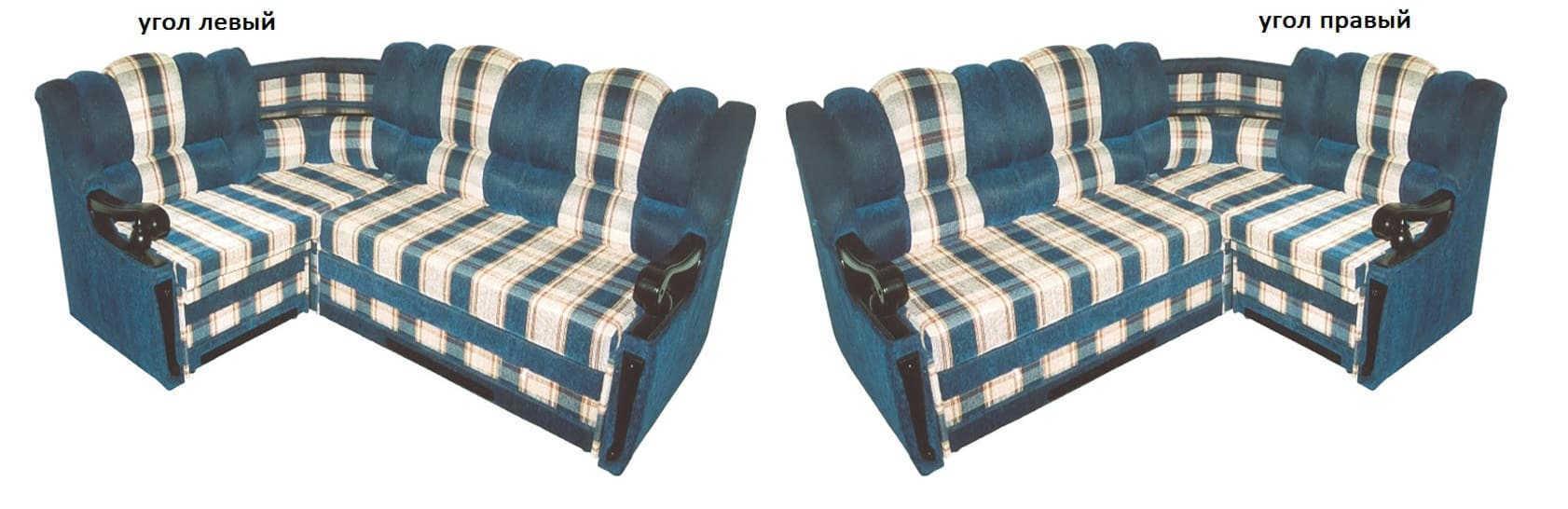 Угловой диван Белла-Т левый или правый