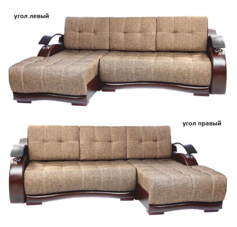 Угловой диван Братислава левый или правый