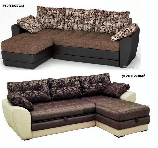 Угловой диван Император-2 левый или правый