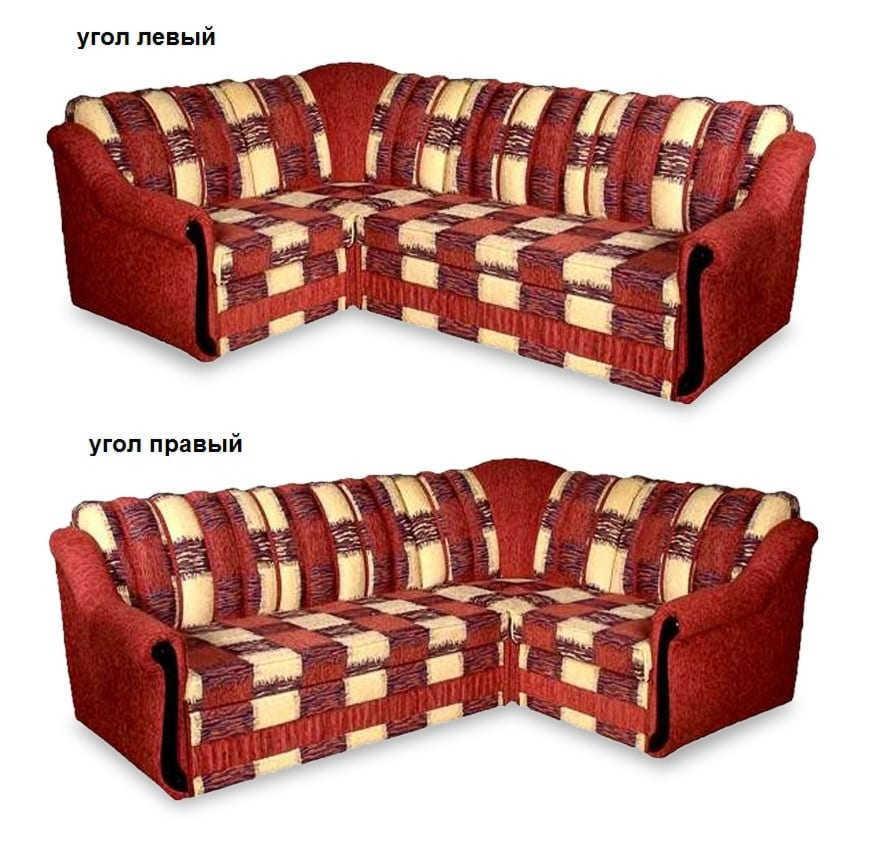 Угловой диван Ниагара МП левый или правый