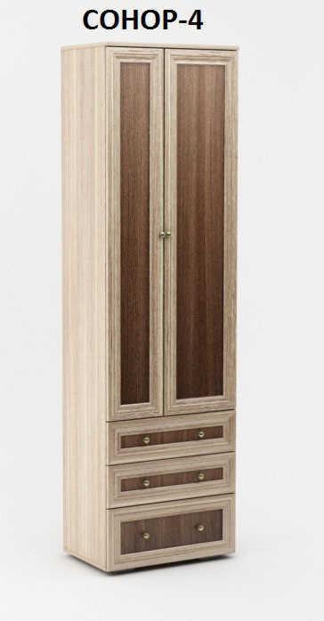 Шкаф распашной Сонор-4