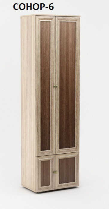 Шкаф распашной Сонор-6
