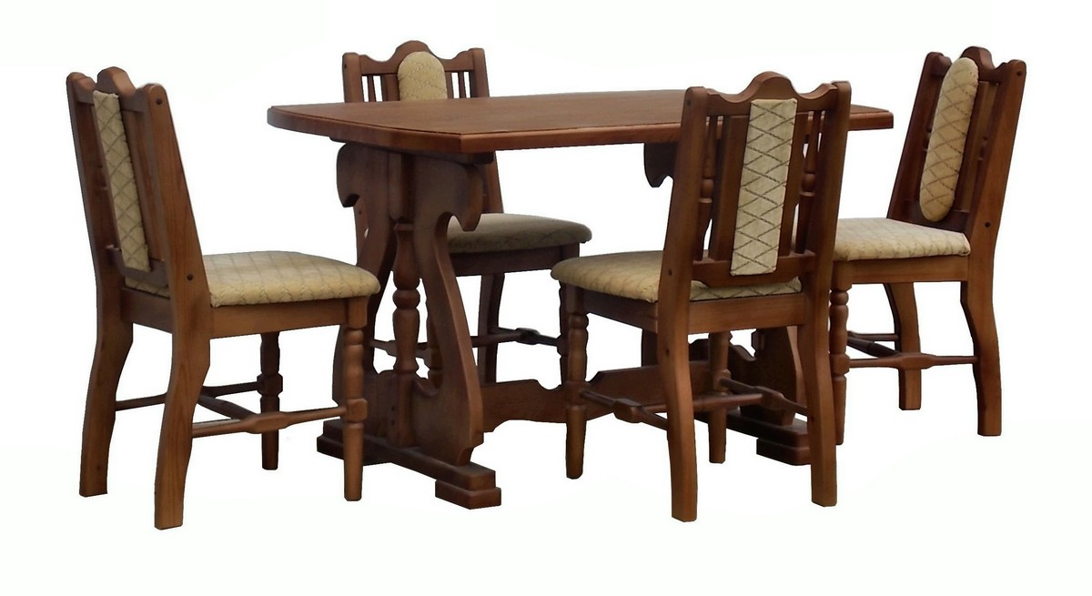 Обеденная группа Велес (стол+4 стула)