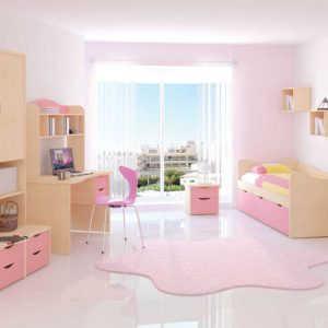 Модульная детская комната Ника