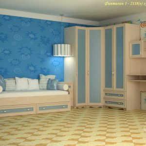 Модульная детская мебель Симфония-1