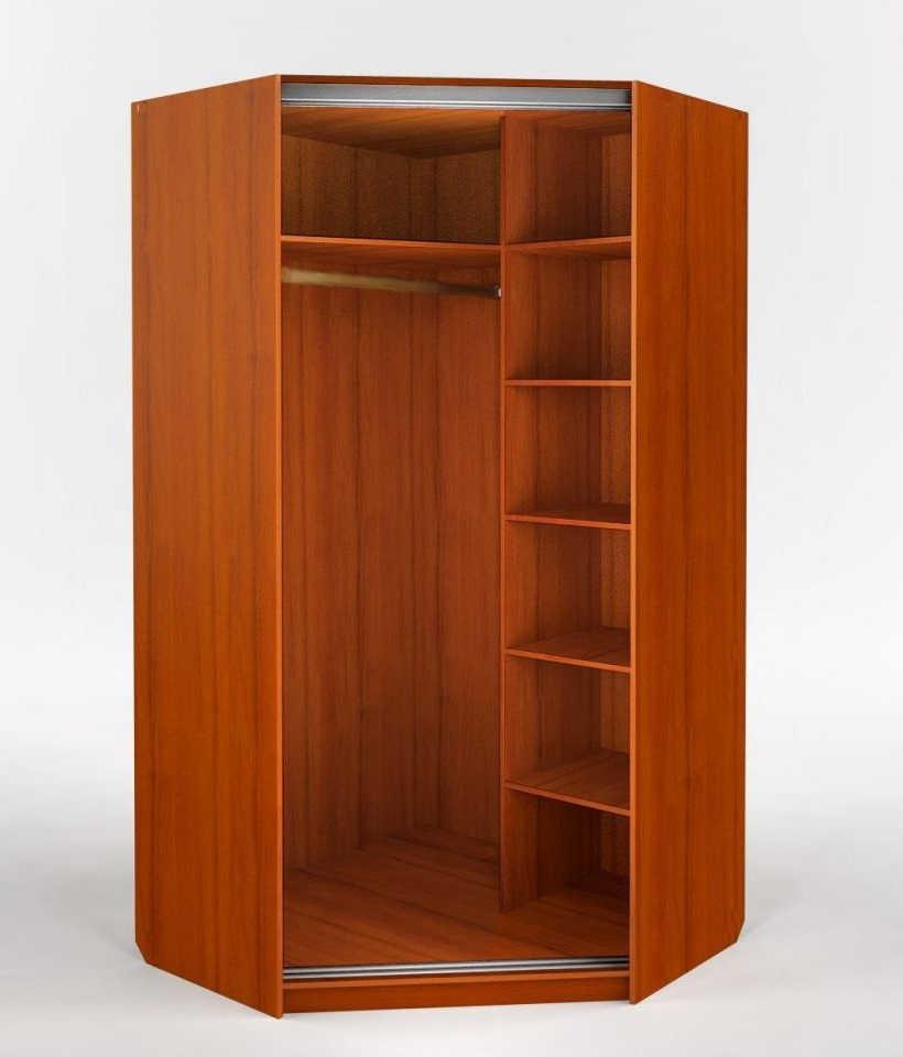 стандартное наполнение углового шкафа