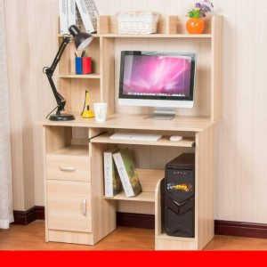 Белый компьютерный стол №15