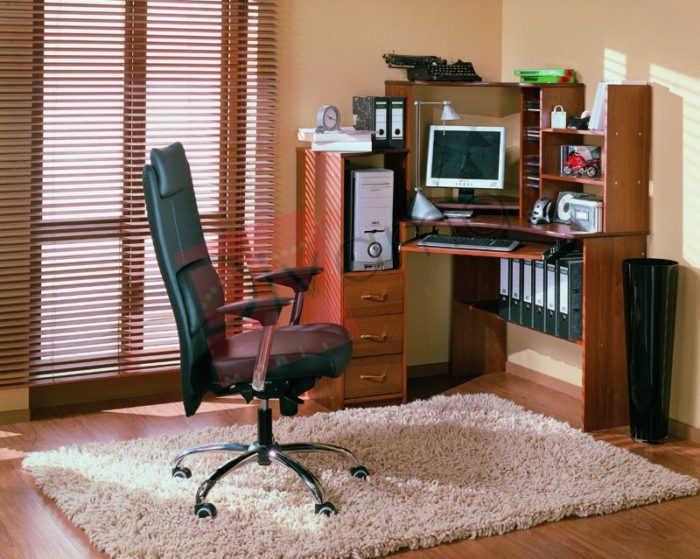 Компьютерный стол №5 (фиеста)