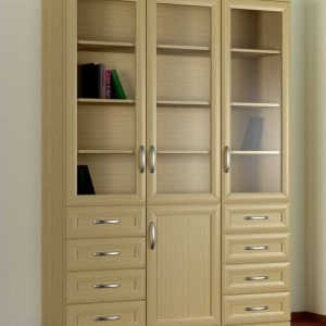 Кухонный напольный шкаф книжный 3№9