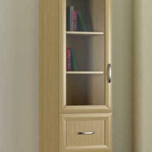 Однодверный шкаф книжный 1№4