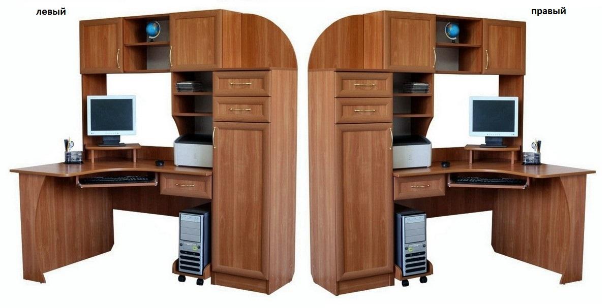 Компьютерный стол КС 20-16 M3 левый или правый