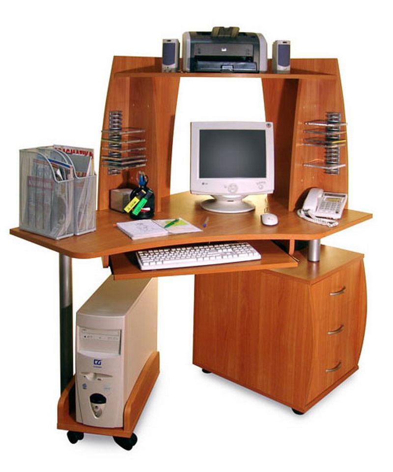 Компьютерный стол ПС 04.12 С+ПБ 01.00