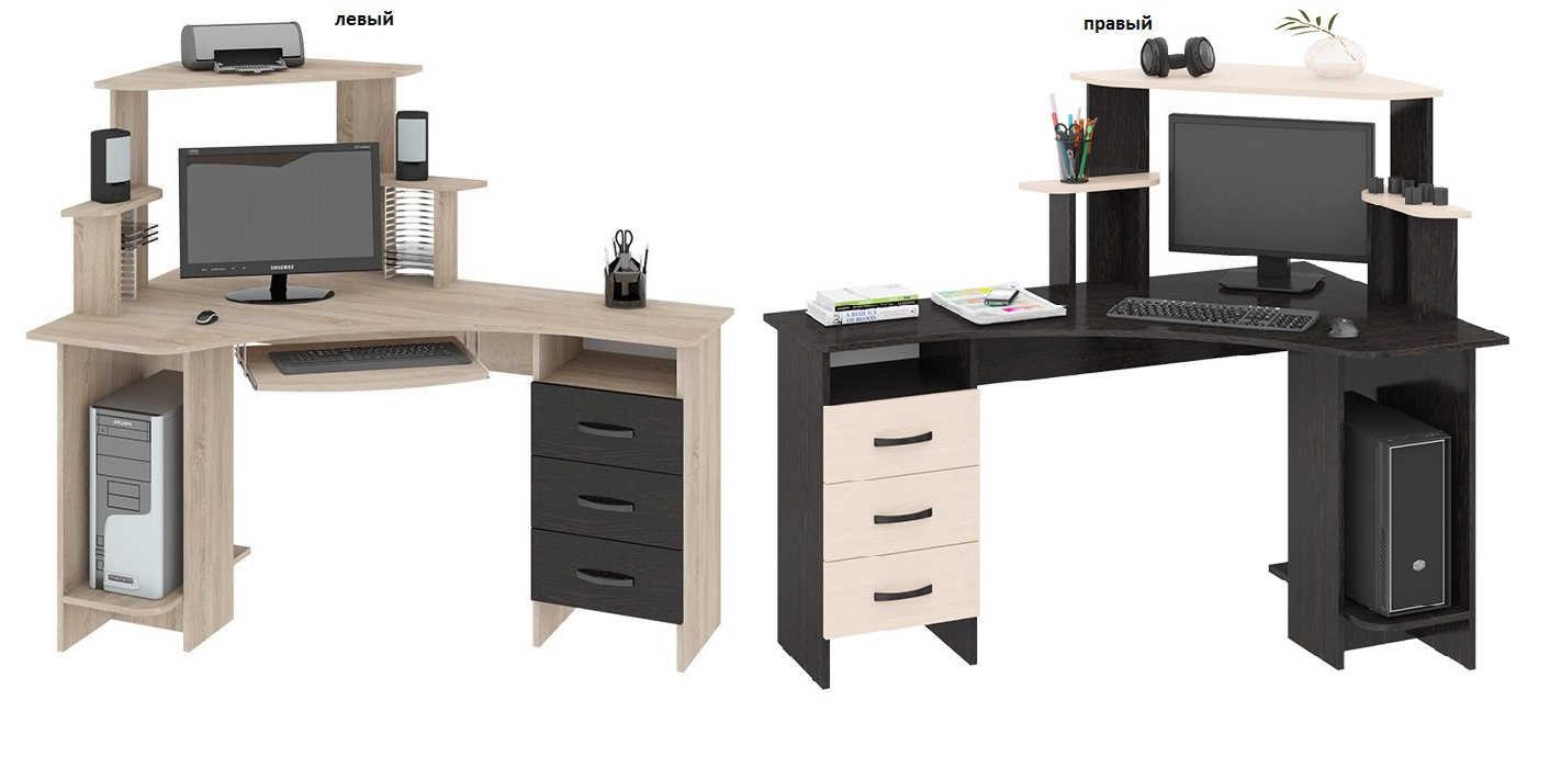 Компьютерный стол Бумеранг 3Н