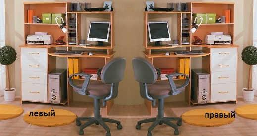 Компьютерный стол №3 (фиеста)