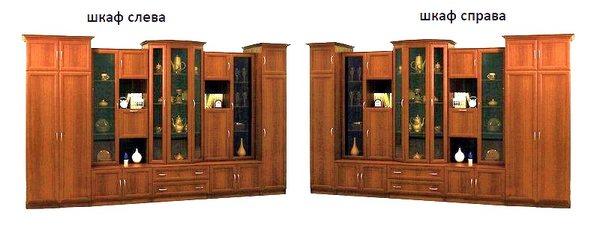 Стенка Композиция-6 шкаф слева или справа