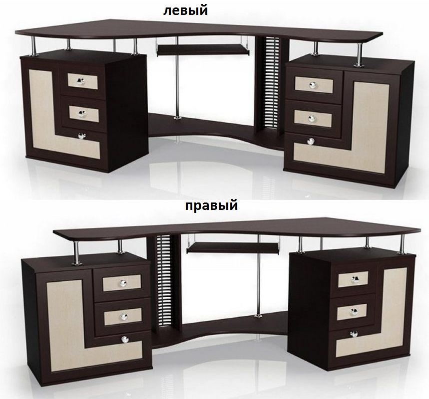Компьютерный стол Млайн-8