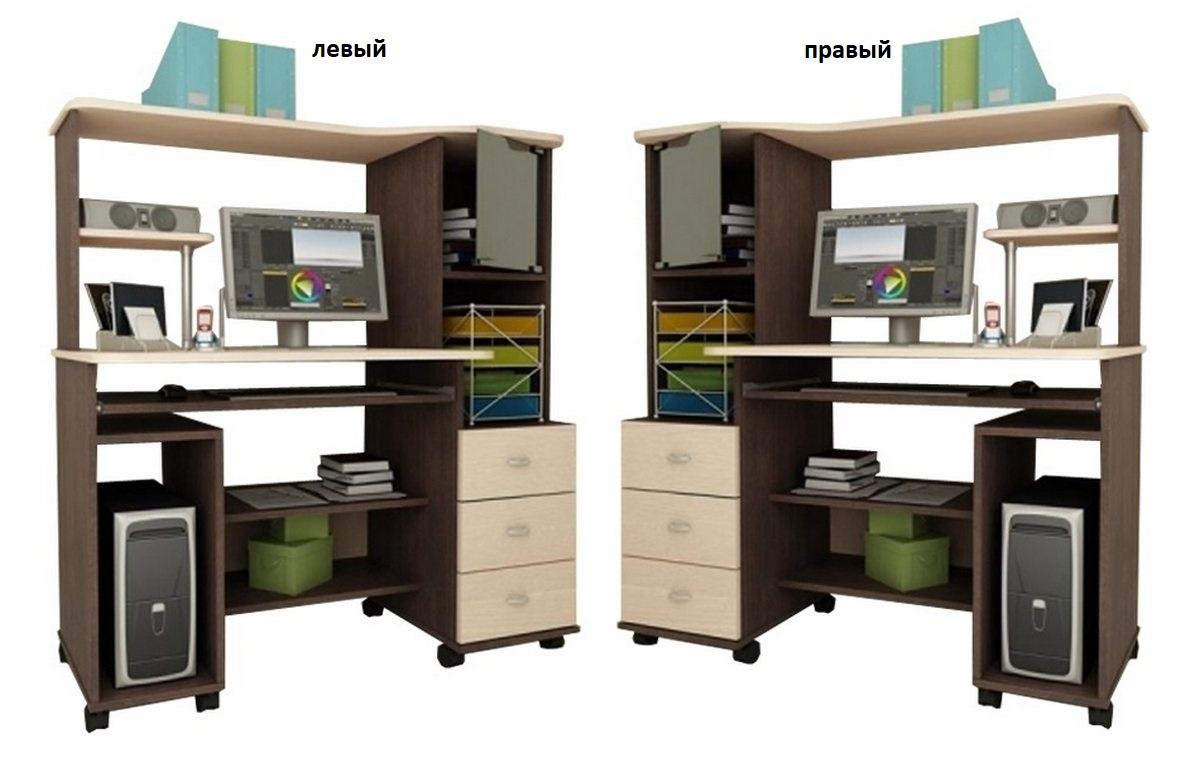 Компьютерный стол Мартин-5 левый или правый