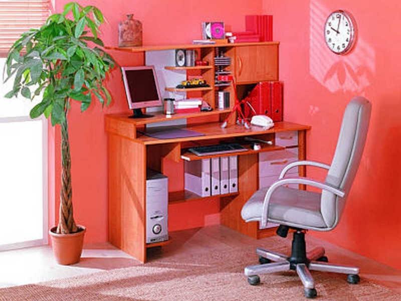 Фиеста 1 компьютерный стол - купить мебель в москве.