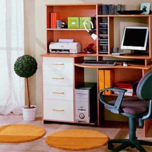 Дешевый компьютерный стол №3 (фиеста)