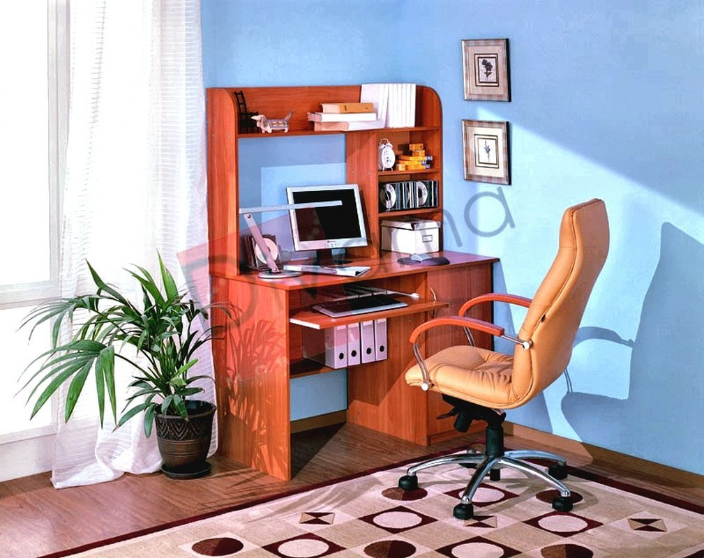 Компьютерный стол №4 (фиеста)