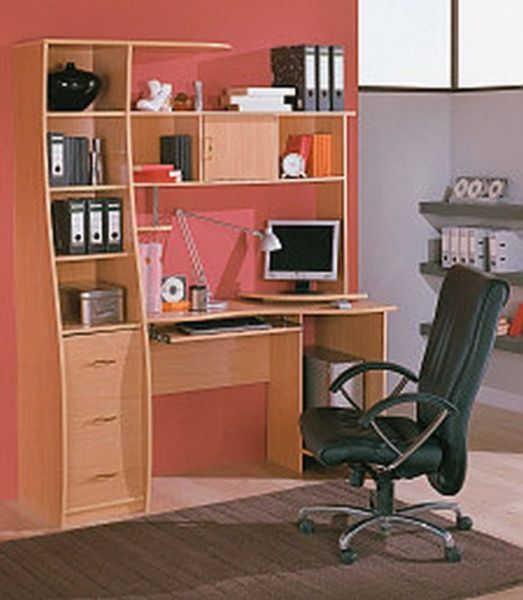 Компьютерный стол №6 (фиеста)