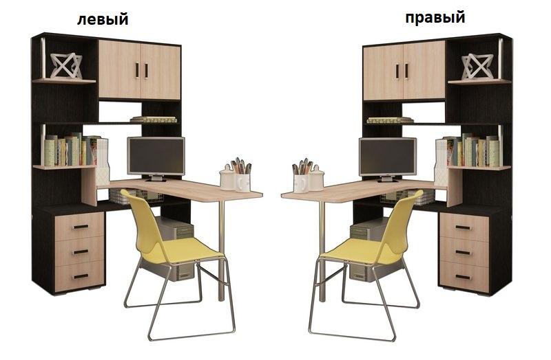 Компьютерный стол СК 3 Н3 левый или правый