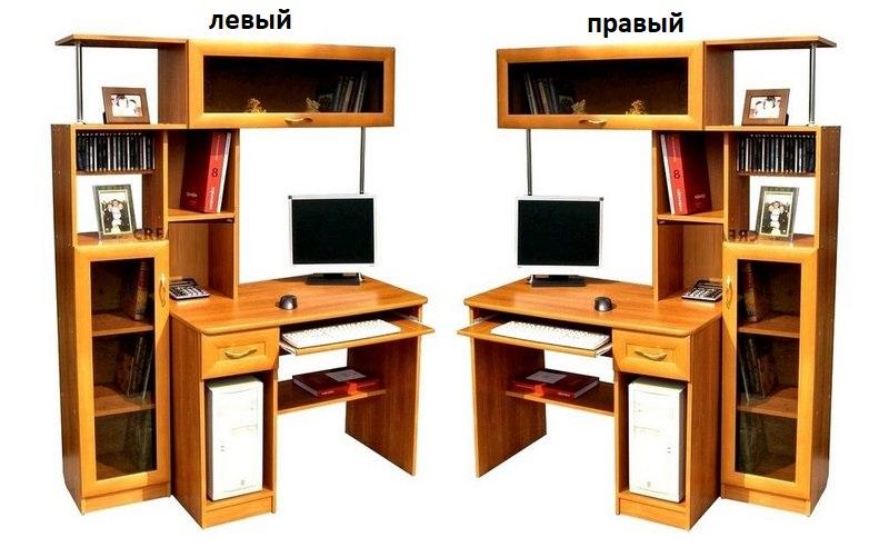 Компьютерный стол СК-70 пенал слева или справа