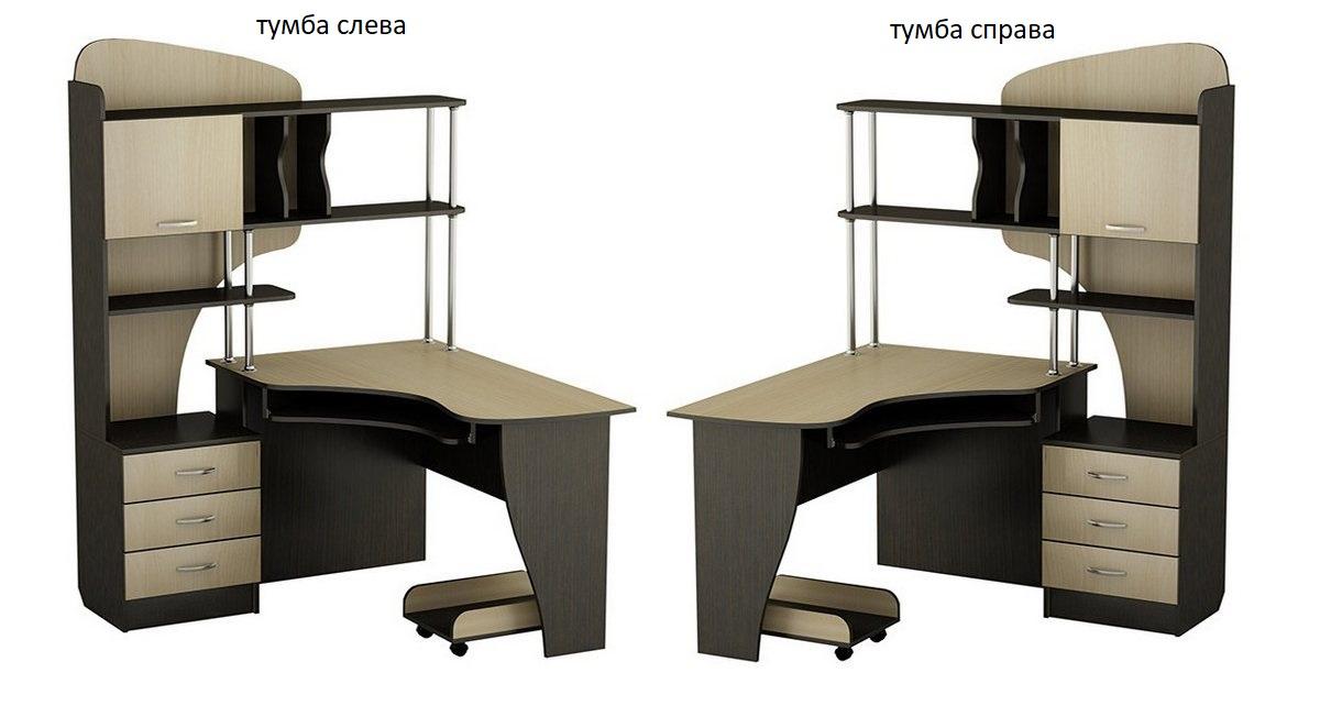 Компьютерный стол СКТ-22 левый или правый