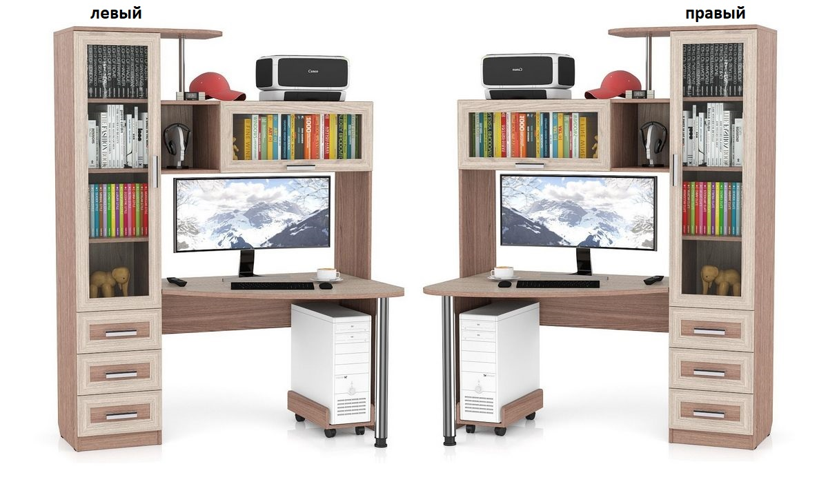 Компьютерный стол Бонус-2 левый или правый
