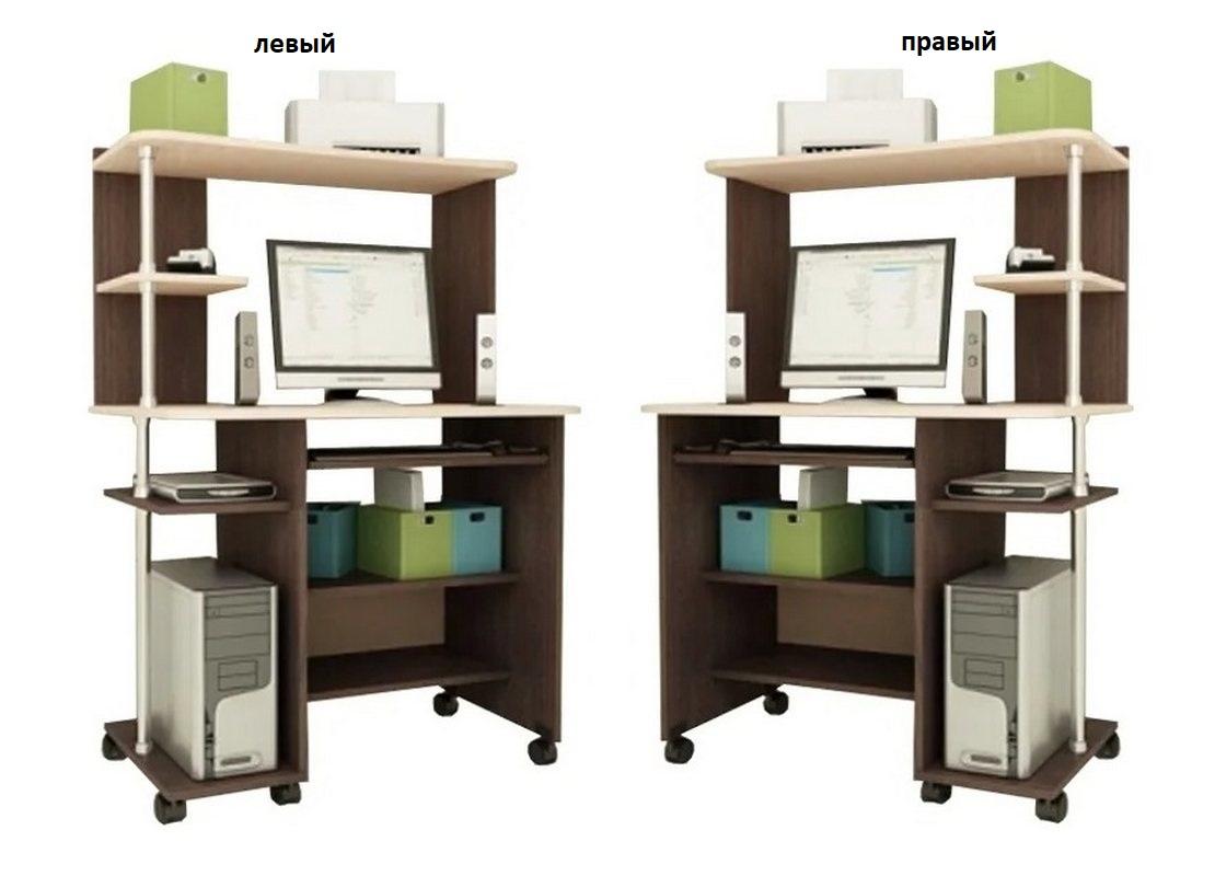 Компьютерный стол Мартин-3 левый или правый
