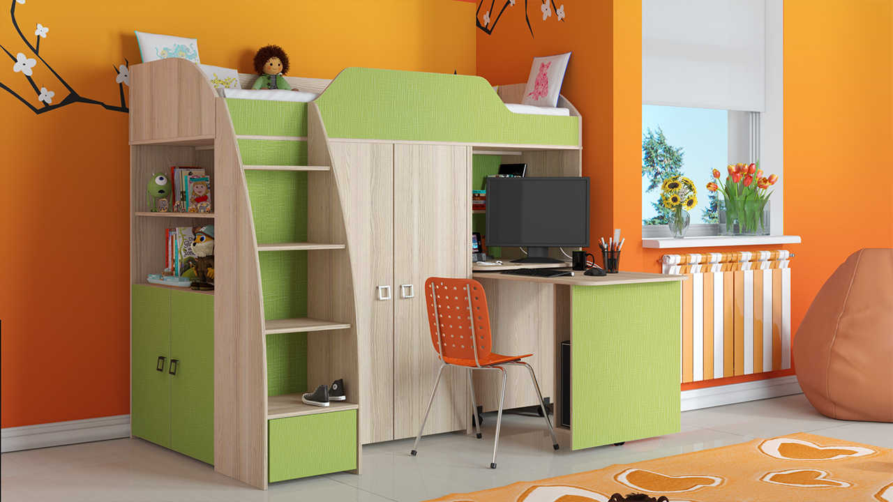 Детская комната Радуга