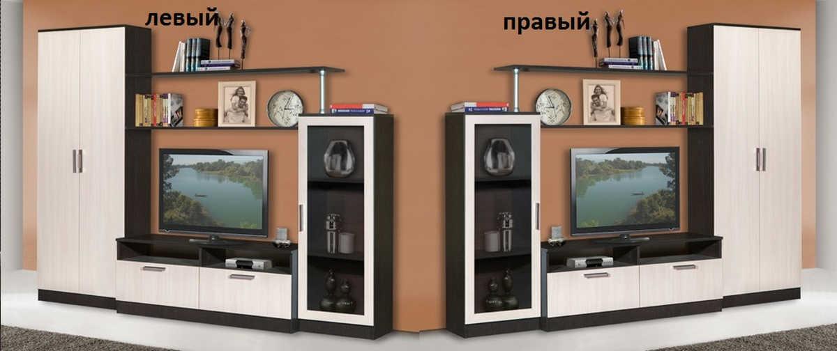 Стенка Капри-2 левая или правая
