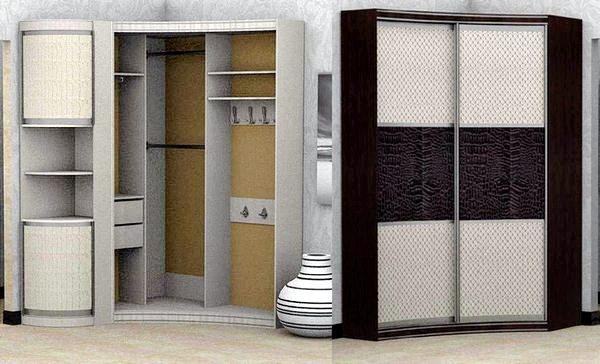 Радиусный шкаф-купе Прадо