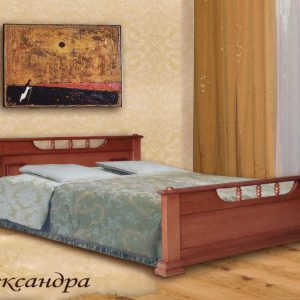 Двуспальная кровать Александра