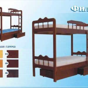 Кровать Филя (2-х ярусная)