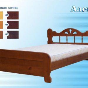 Двуспальная кровать Алёна