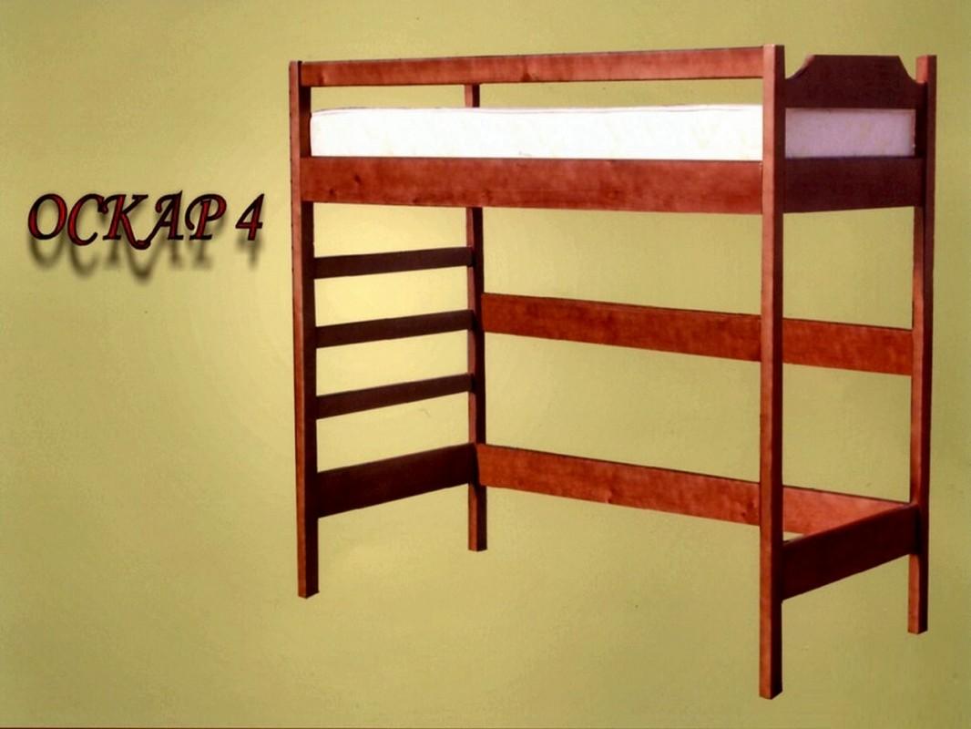 Кровать Оскар 4 (чердак)