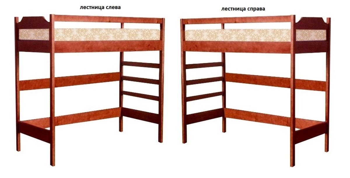Кровать Оскар 4 (чердак) лестница слева или справа