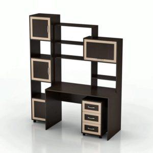 Компьютерный стол Мебелинк 100-04 (рамка МДФ)