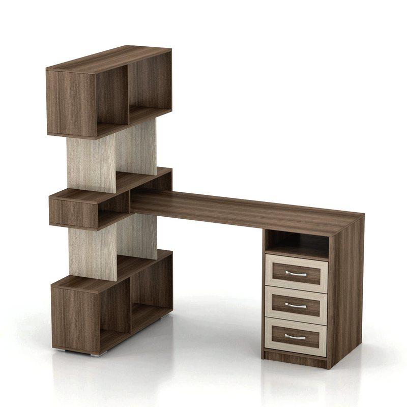 Компьютерный стол Мебелинк 100-14 (рамка МДФ)